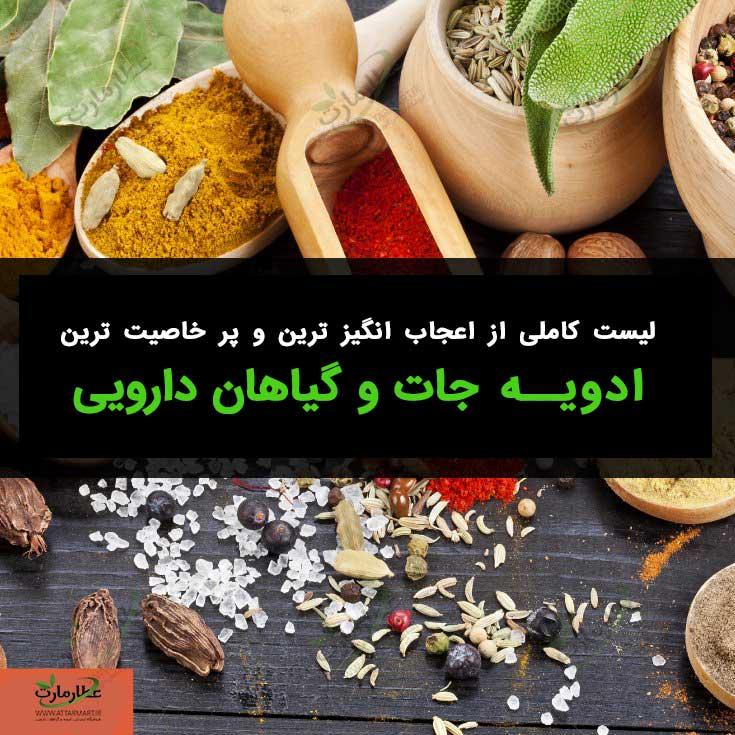 لیست کامل گیاهان دارویی + خواص آن ها