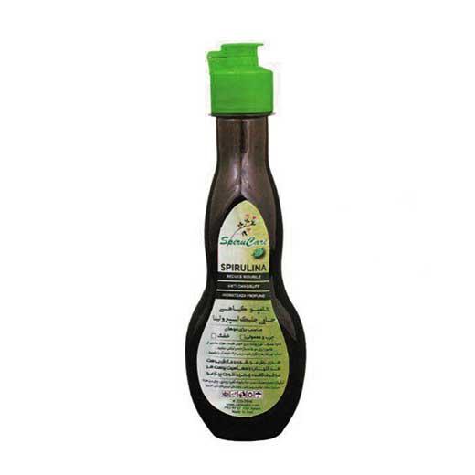 شامپو گیاهی حاوی جلبک اسپیرولینا