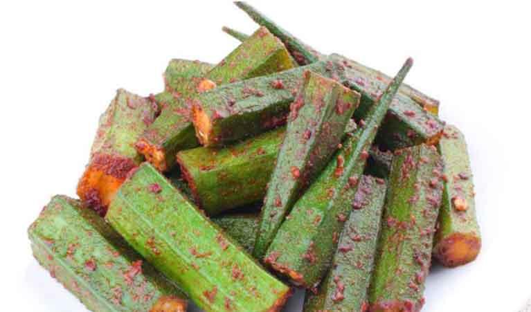 گیاه بامیه برای زود انزالی