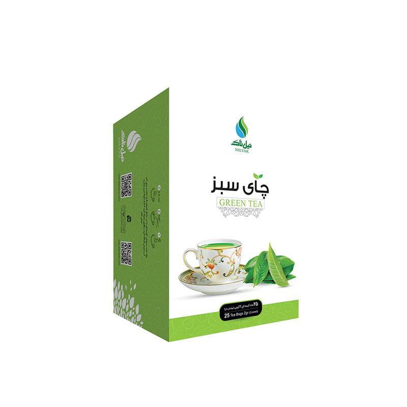 دمنوش چای سبز نیل تاک