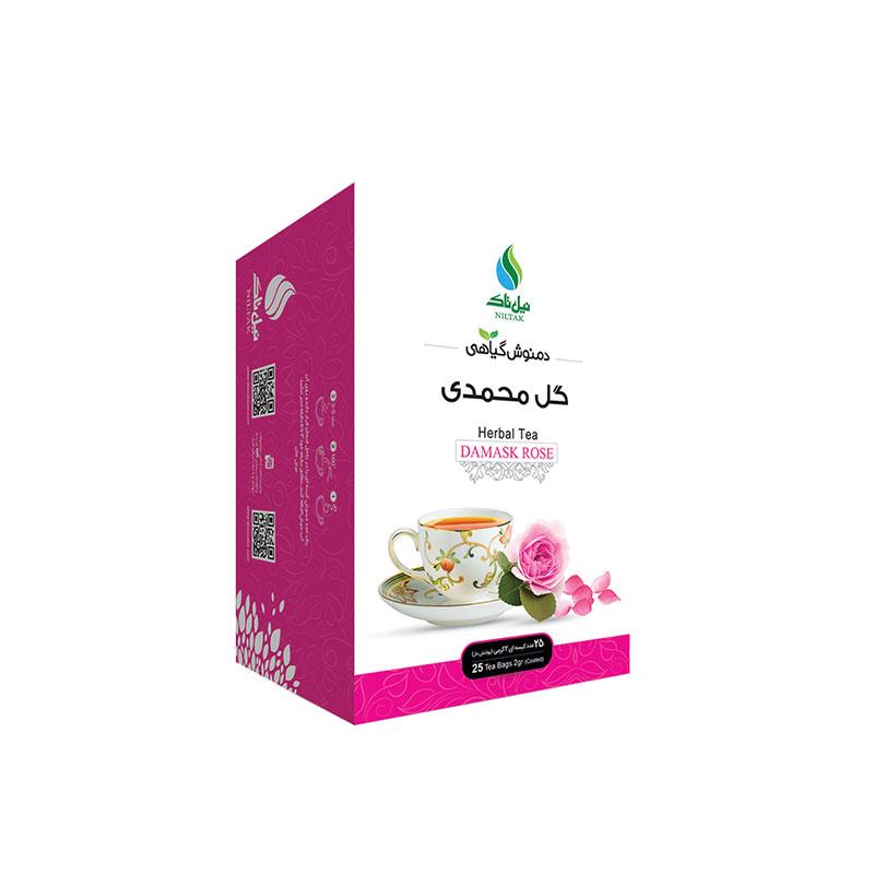 دمنوش گل محمدی نیل تاک