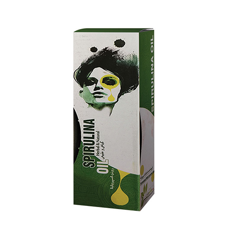روغن ماساژ جلبک اسپیرولینا کافه سبز