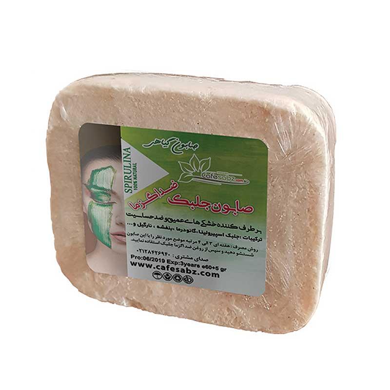 صابون ضد اگزما جلبک کافه سبز