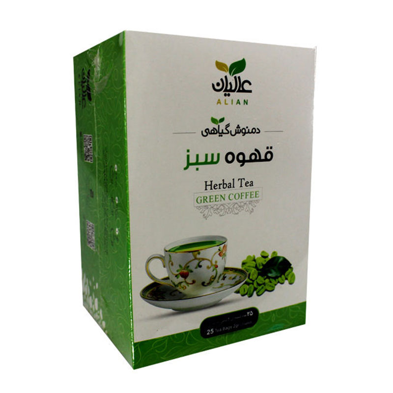 دمنوش قهوه سبز نیل تاک