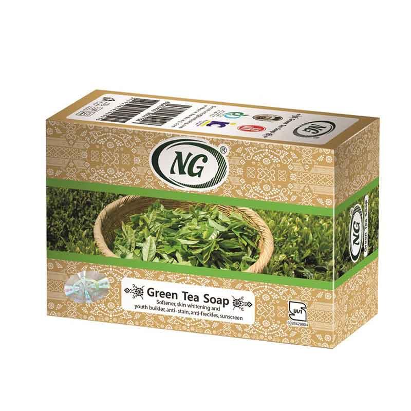 صابون چای سبز ان جی