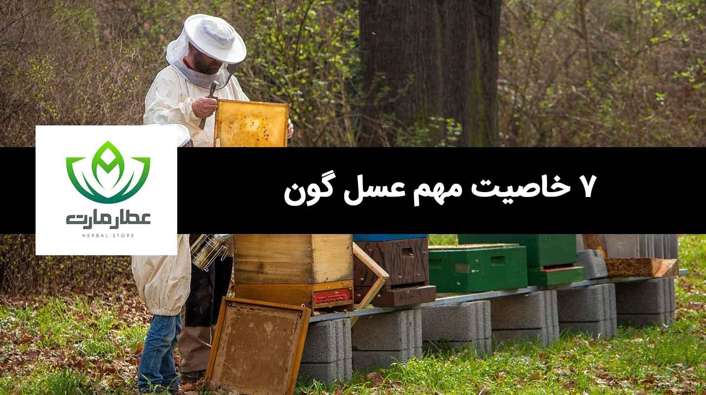 مهم ترین فواید عسل گون چیست؟